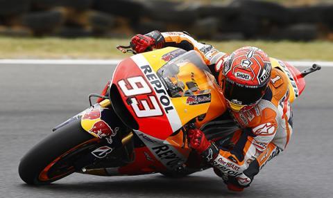 Clasificación MotoGP Phillip Island 2015: Márquez se sale