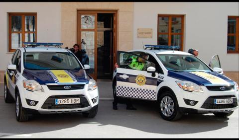 Un malagueño raya 15 coches de los policías por venganza