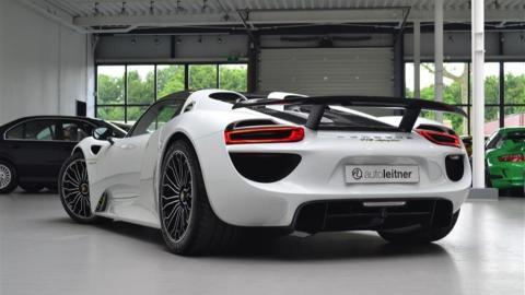 Porsche 918 Spyder venta trasera