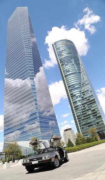 DeLorean-torres-Madrid