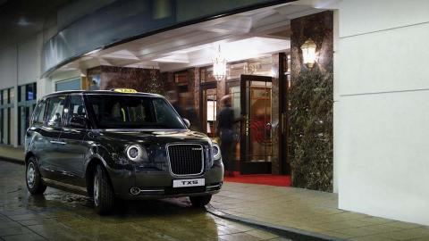 Un taxi para Londres 'made in China'