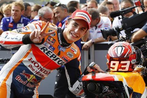 """Márquez; """"a quien tiene que batir Rossi es a Lorenzo"""""""