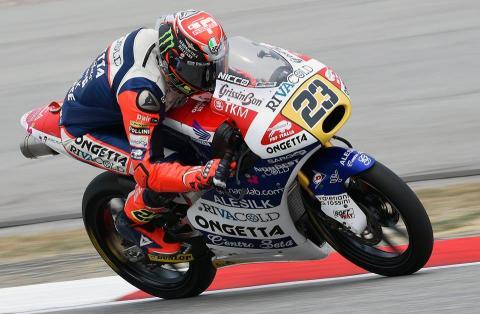 Clasificación Moto3 Malasia 2015: segunda pole de Antonelli