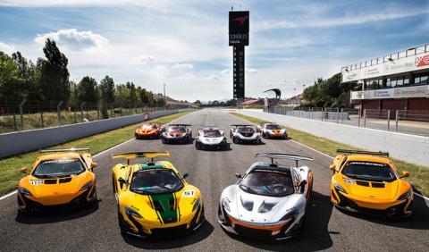 El 'McLaren Driver Program' llega a Barcelona