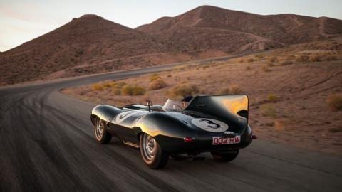 Jaguar D-Type Long Nose trasera