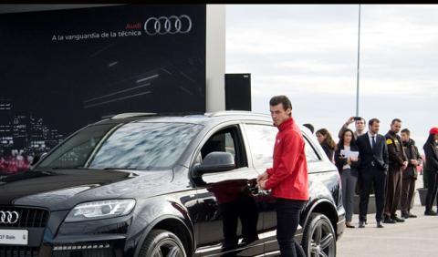 Los jugadores del Real Madrid ya tienen sus nuevos Audi