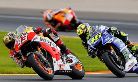 Los horarios de MotoGP, Valencia 2015