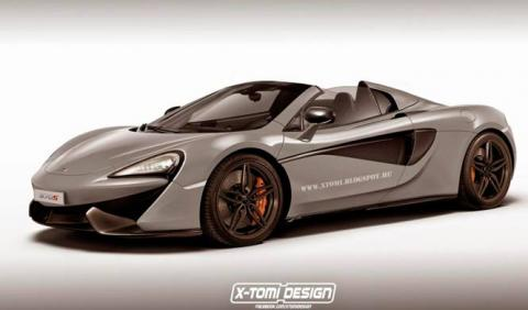 ¿Es este el McLaren 570S GT?