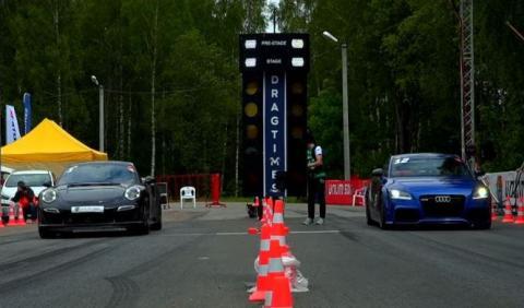 El Audi TT RS que planta cara a los Porsche 911 Turbo S