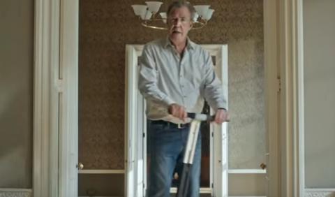 Jeremy Clarkson en su primer anuncio para Amazon