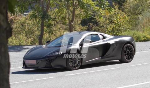McLaren 675LT Spider: más cerca