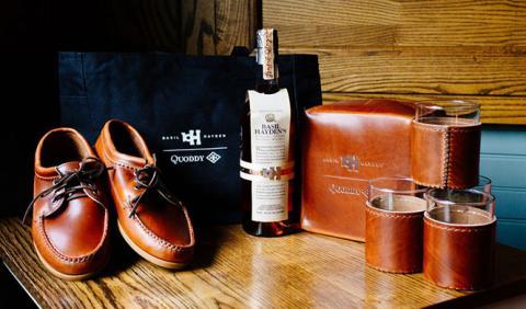 Quoddy by Basil Hayden, un zapato para 'darse' a la bebida