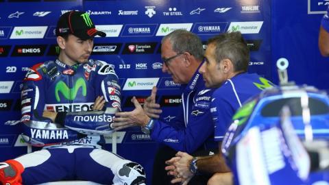"""Lorenzo justifica a Rossi: """"Habló desde la frustración"""""""