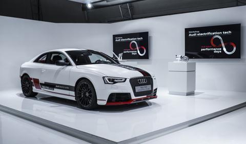 La tecnología de hibridación ligera mild hybrid de Audi