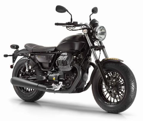 Nueva Moto Guzzi V9 Bobber, en el Salón de Milán 2015