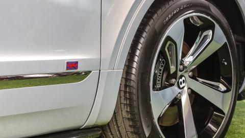 Bentley Bentayga First Edition union jack
