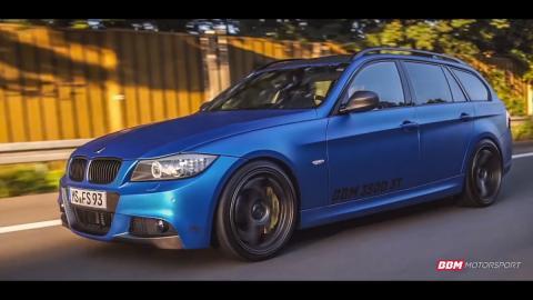 BMW 350d: un Serie 3 con el motor del M550d ¡alucinante!