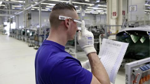 Las gafas inteligentes 3D llegan a la planta de Volkswagen