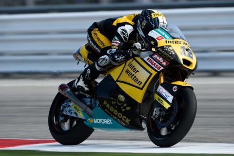 Suter abandona Moto2. Peligro para Efrén Vázquez