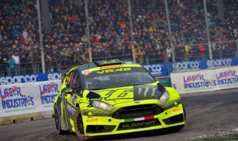 Valentino Rossi vence el Monza Rally Show 2015