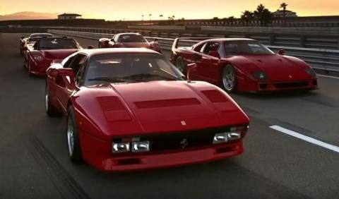 Ojo a esta serie: Los cinco mejores Ferrari (1/3)