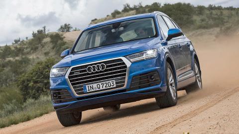 Prueba: Audi Q7 2015 dinamica 3 cuartos