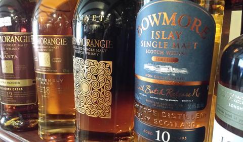 Los cinco mejores whiskys del mundo
