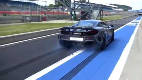 Así funciona el 'modo derrape' del McLaren 675 LT