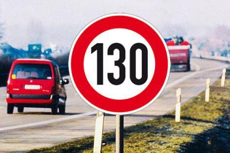 Olvídate de conducir a 130 km/h...¡al menos de momento!