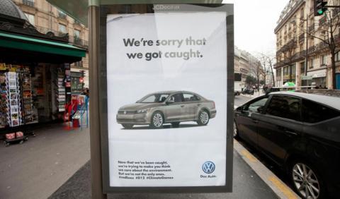 Brandalism no se olvida del escándalo de Volkswagen