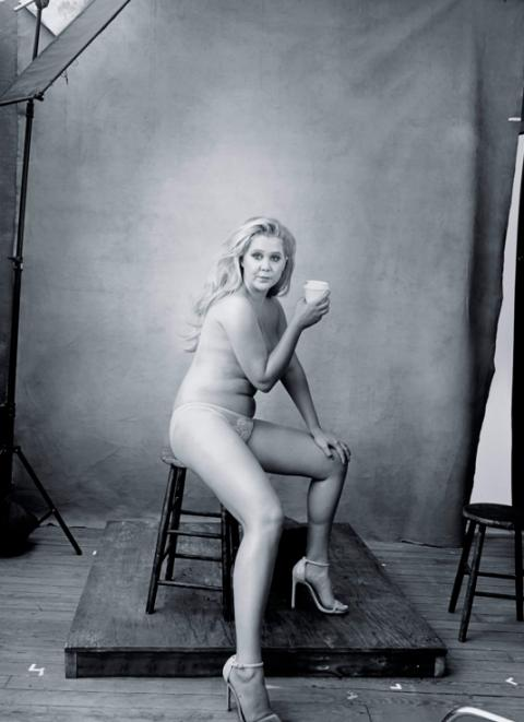 Amy Schumer calendario pirelli 2016