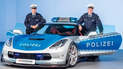 Corvette de la policía alemana