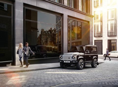 Land Rover Overfinch tres cuartos delantero