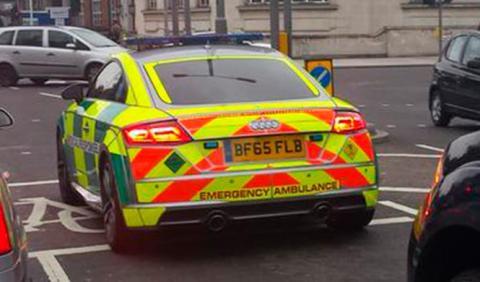 Roban un Audi TT usado de... ¡ambulancia!