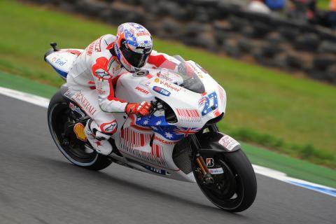 Ducati quiere ir despacio con Casey Stoner