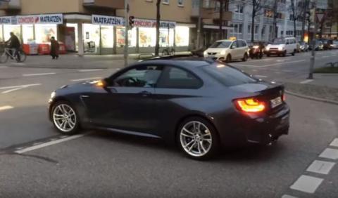 Aquí tienes un BMW M2 al natural