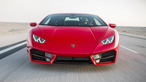 Prueba bestial: Lamborghini Huracán LP 580-2
