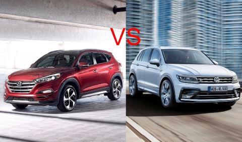 ¿Cuál es mejor, Volkswagen Tiguan o Hyundai Tucson?
