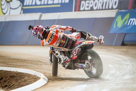 Superprestigio Dirt Track 2015: Baker bate a Márquez