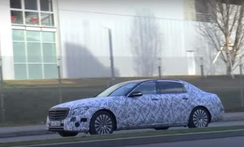 Nuevo Mercedes Clase E de batalla larga: ¡cazado!