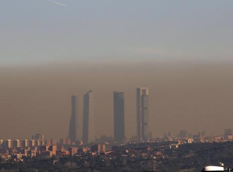 Contaminación en Madrid: un problema que no se soluciona