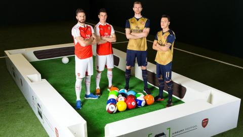 Arsenal FootPool Airbumps