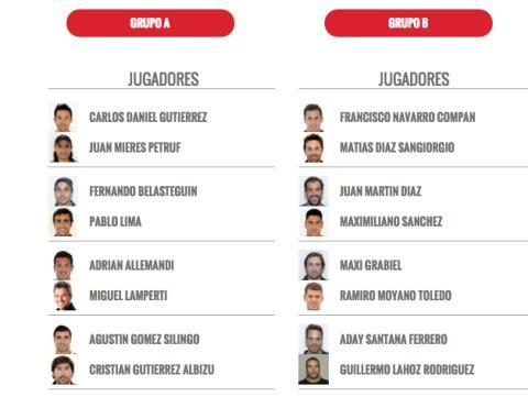 grupo masculino master world padel tour madrid 2015