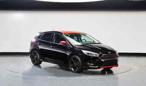 Ford presenta el Focus Red Edition y el Focus Black Edition