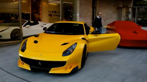 Comienzan las entregas del Ferrari F12tdf