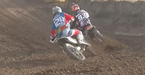 Video de carrera motocross de Marc Márquez para acabar 2015