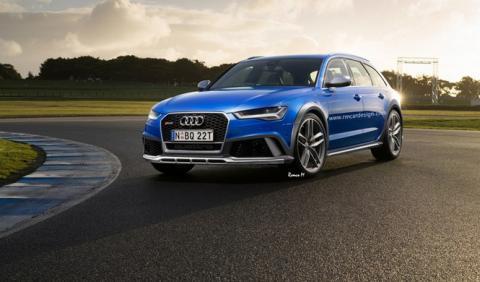 Así podría ser el Audi RS6 allroad