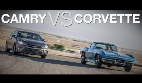 Toyota Camry o Chevrolet Corvette, ¿la edad importa?