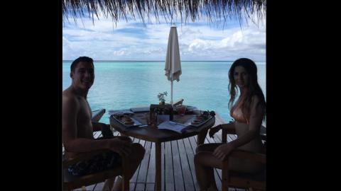 aleix spargaro vacaciones maldivas
