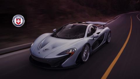 McLaren P1 de HRE Performance Wheels